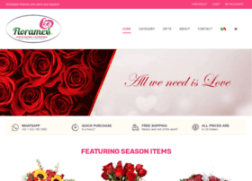 Floramex.com thumbnail