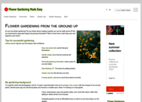 Flower-gardening-made-easy.com thumbnail