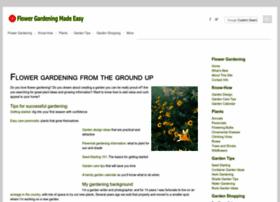 Flower-gardening-made-easy.com thumbnail