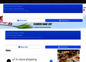 Flowersnamelist.com thumbnail
