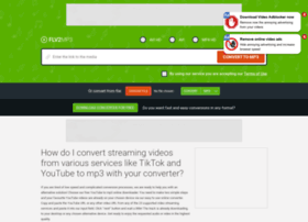 flv2mp3.com at WI. Our video downloader is the best