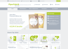 Flyerfabrik.de thumbnail