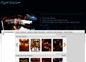 Flyerstarter.com thumbnail