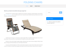 Foldingchairs.biz thumbnail