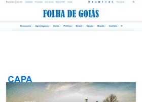 Folhadegoias.info thumbnail
