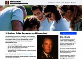 Folkebernadottesminnesfond.se thumbnail