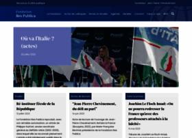 Fondation-res-publica.org thumbnail