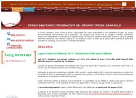 Fondosanitariogruppointesasanpaolo.it thumbnail