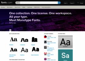 Fonts.com thumbnail