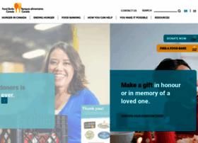 Foodbankscanada.ca thumbnail