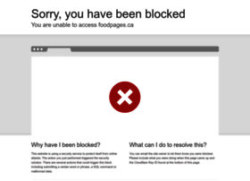 Foodpages.ca thumbnail