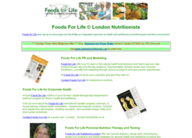 Foodsforlife.co.uk thumbnail