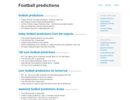 Footballpredictions.xyz thumbnail