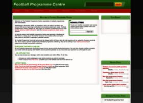 Footballprogrammecentre.co.uk thumbnail
