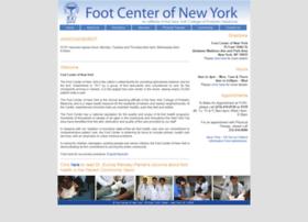 Footcenterofnewyork.org thumbnail