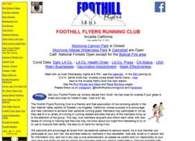 Foothillflyers.org thumbnail