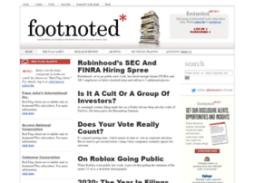 Footnoted.org thumbnail