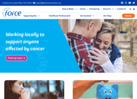 Forcecancercharity.co.uk thumbnail