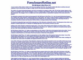 Foreclosurehotline.net thumbnail