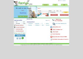 Foreignjobs.in thumbnail