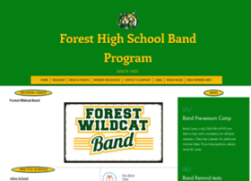 Forestband.org thumbnail