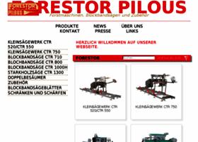 Forestor-pilous.de thumbnail