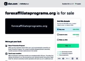 Forexaffiliateprograms.org thumbnail