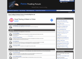 Forex broker forum