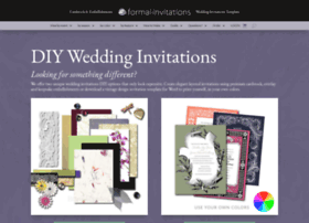 Formal-invitations.com thumbnail