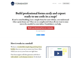 Formbakery.com thumbnail
