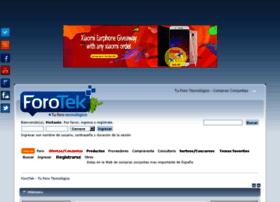 Forotek.net thumbnail