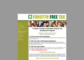 Forsythfreetax.org thumbnail
