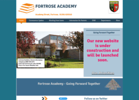 Fortroseacademy.co.uk thumbnail
