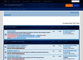 Forum.joomla.org thumbnail