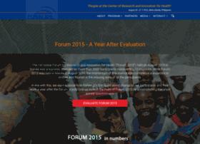 Forum2015.org thumbnail
