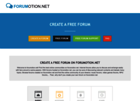 Forumotion.net thumbnail