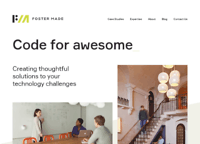 Fostermade.co thumbnail