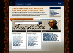 Founders.archives.gov thumbnail