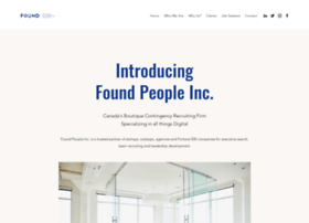 Foundpeople.ca thumbnail