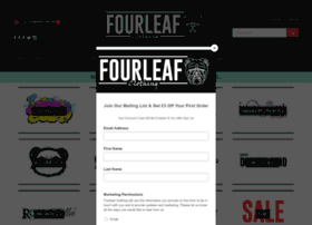 Fourleafclothing.co.uk thumbnail