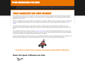 Fourwheelersforkids.weebly.com thumbnail