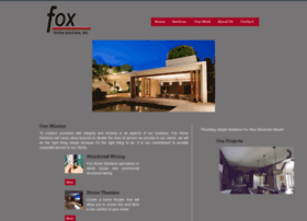 Foxhomesolutions.net thumbnail