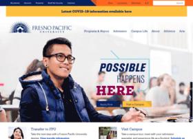 Fpu Edu At Wi Fresno Pacific University