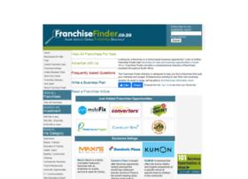Franchisefinder.co.za thumbnail