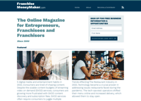 Franchisemoneymaker.com thumbnail