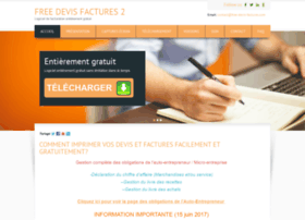 Free-devis-factures.com thumbnail