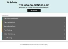 Free-nba-predictions.com thumbnail