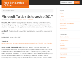 Free-scholarship-online.com thumbnail