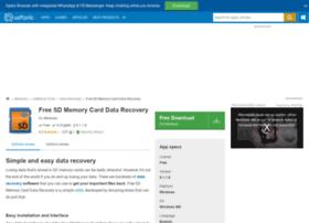 Free-sd-memory-card-data-recovery.en.softonic.com thumbnail