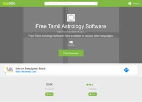 Free-tamil-astrology-software.apponic.com thumbnail